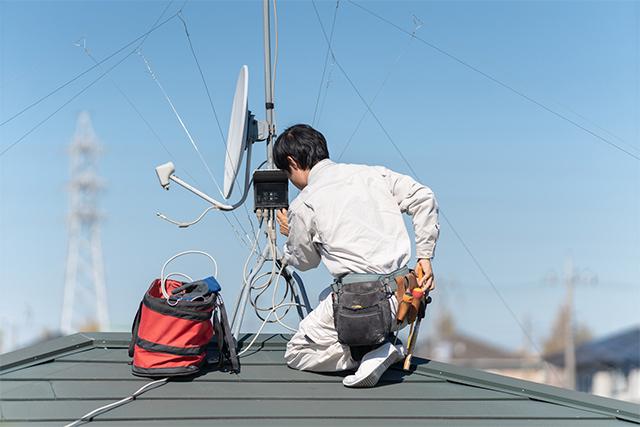 家電の設置・取り付け_アンテナ工事